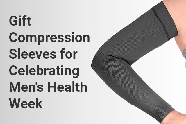 Gift Compression Sleeves for Celebrating Men's Health Week