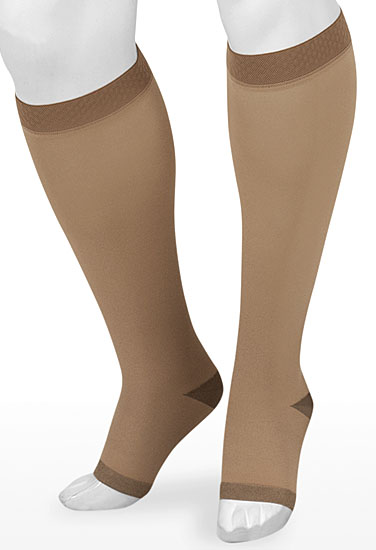 juzo silver soft knee high stockings lymphedema products